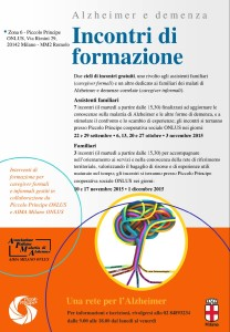 Locandina formazione AF e fam_Zona 6