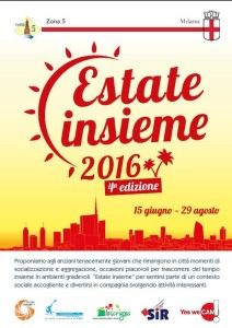 Locandina Estate Insieme 2016